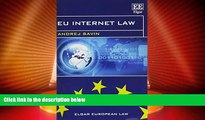 Big Deals  EU Internet Law (Elgar European Law series)  Best Seller Books Most Wanted