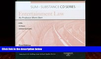 Big Deals  Sum and Substance Audio Set on Entertainment Law  Best Seller Books Most Wanted