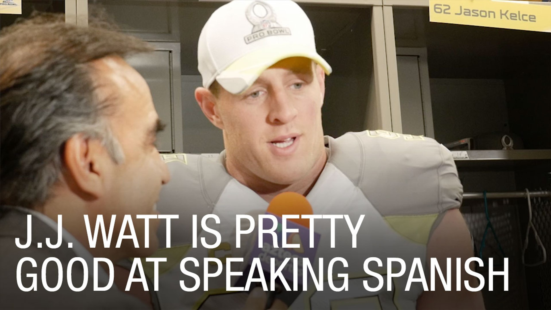 J.J. Watt is Pretty Good at Speaking Spanish
