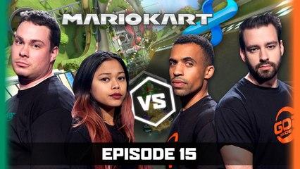 Ep 15 | Mario Kart 8 | Gassy Mexican Reckless Tortuga vs Moo Snuckel TheMissesMae | LoG S2