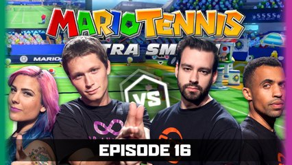 Ep 16 | Mario Tennis Ultra Smash | Gassy Mexican Reckless Tortuga vs The Zombi Unicorn TmarTn