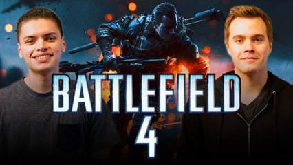 Let's Play BATTLEFIELD 4 (Part 2) with RickyFTW and ArodGamez  | Smasher Let's Play