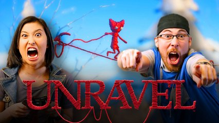 Let's Play UNRAVEL (PART 2) with Erika Ishii and JoblessGarrett | Smasher Let's Play