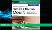 Big Deals  Everybody s Guide to Small Claims Court (Everybody s Guide to Small Claims Court.