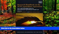 READ NOW  Research Handbook on the WTO Agriculture Agreement: New and Emerging Issues in