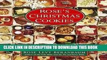 [New] Ebook Rose s Christmas Cookies Free Online