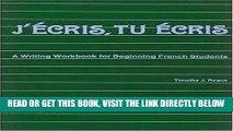 [EBOOK] DOWNLOAD J Ecris, Tu Ecris READ NOW