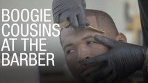 DeMarcus Cousins Visits the Barber