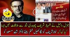 Dr Shahid Masood is Giving Strong Analysis on Ishaq Dar Shehbaz Sharif Meeting With General Raheel
