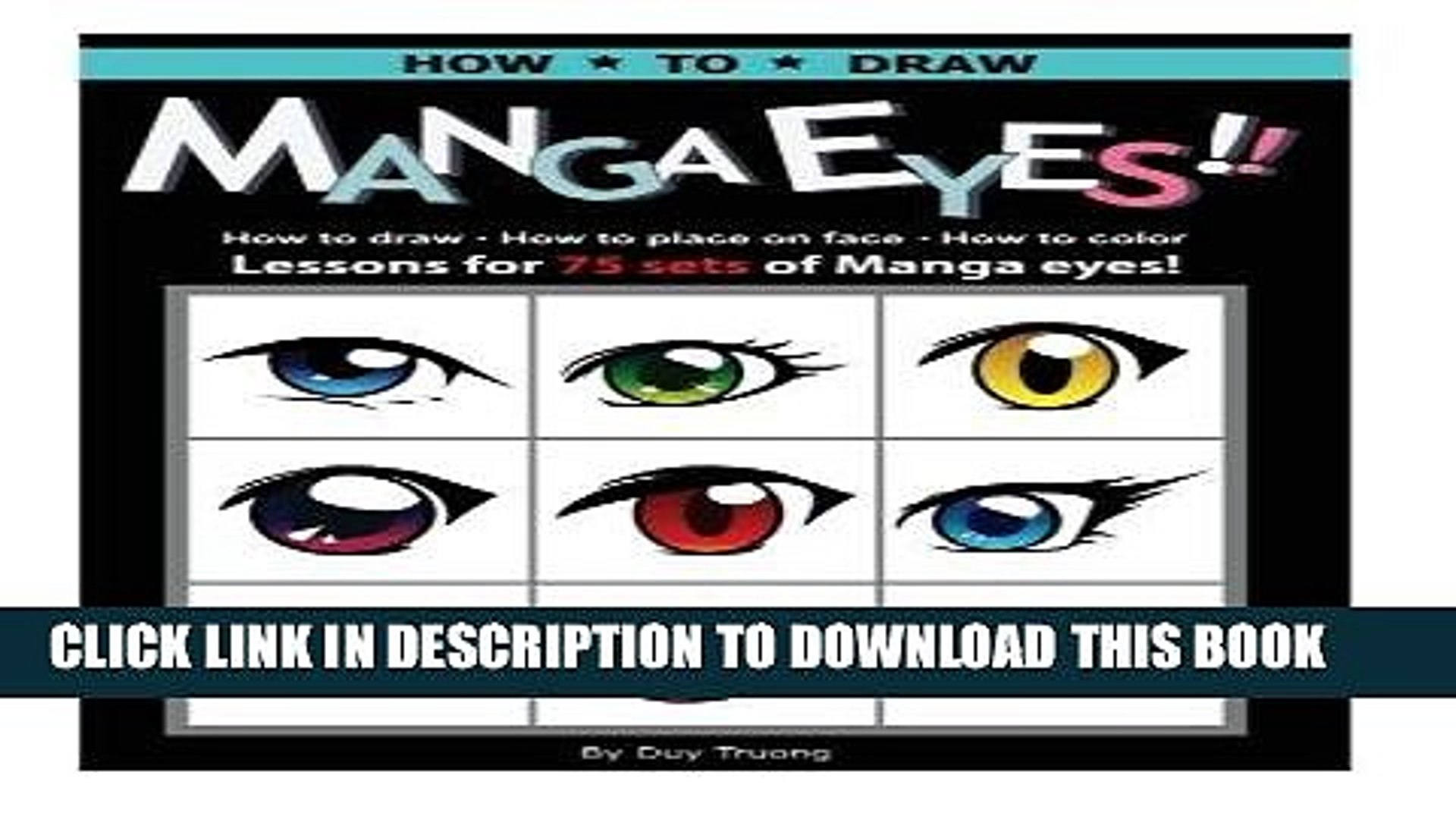 Read Now How to draw Manga eyes!! How to Draw- How to Place on Face-How to Color Lessons for 75