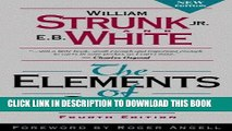 Best Seller The Elements of Style, Fourth Edition Free Read