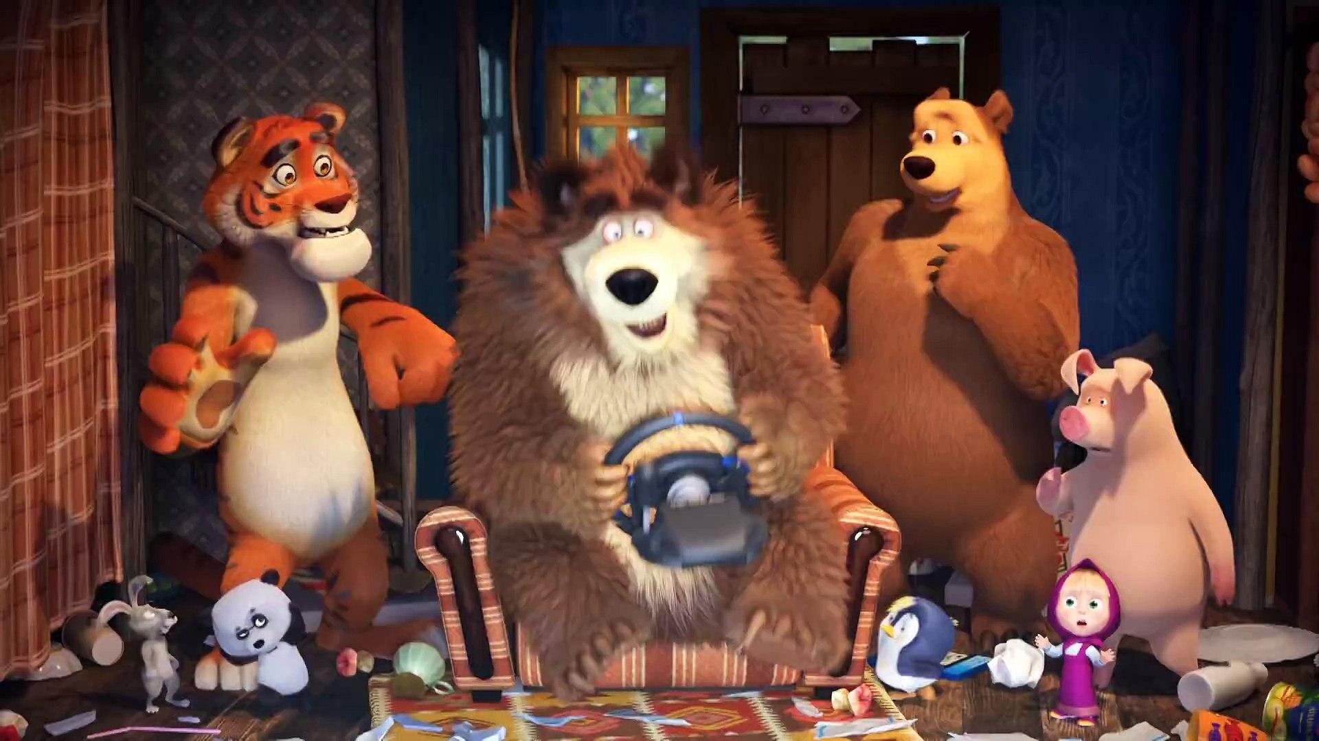 Маша и Медведь - Game Over (Друзья спешат на помощь)