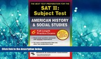 Enjoyed Read SAT II: United States History (REA)  -- The Best Test Prep for the SAT II (SAT PSAT