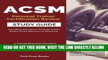 [DOWNLOAD] PDF ACSM Personal Trainer Certification Review Study Guide: Certified Personal Trainer