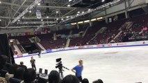 2016-10-27 Skate Canada International - Yuzuru Hanyu Practice Clips 02