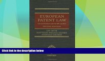 Big Deals  European Patent Law: Law and Procedure under the EPC and PCT  Best Seller Books Best