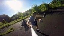 Session de jongles de football filmés à la GoPro par Kieran Brown