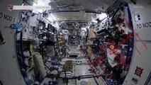 Visite de la station spatiale internationale filmée en 4K par les astronautes