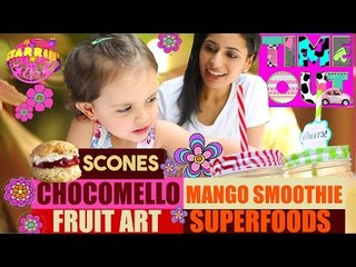 Daria's Hi 5 - Scones, Chocomellow, Mango Smoothie - Starrin Time Out With Daria