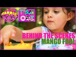 Mango Fool by Daria - Behind The Scenes | Starrin Time Out with Daria
