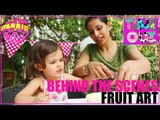 Fruit Art (Doggy) by Daria - Behind The Scenes | Starrin Time Out with Daria
