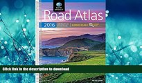 READ ONLINE Rand McNally 2016 Large Scale Road Atlas (Rand Mcnally Large Scale Road Atlas USA)