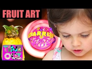 Fruit Art (Lion) by Daria | Starrin Time Out with Daria