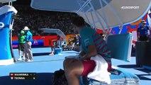 Jo-Wilfried Tsonga et Stan Wawrinka se chauffent !