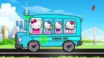 Привет Китти колеса на автобусе пойти кругом потешки для детей