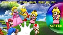 Super Mario Finger Family Song [Nursery Rhyme] Finger Family Fun | Toy PARODY