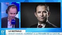"""Benoît Hamon : """"Je crois sérieusement que je peux gagner l'élection présidentielle"""""""