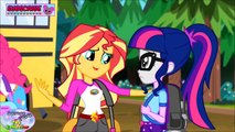 My Little Pony Equestria Girls Legend Of Everfree Coloring Book Surprise Egg and Toy Collector SETC