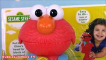 Elmo Bubblin Blast Elmo! Sesame Streets Elmo Blows Bubbles! Plaza Sesamo
