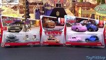 new Mattel Disney Cars Lubewig Nancy John Father Burke Cardinal Antonio Angelo Pixar Movie Moments