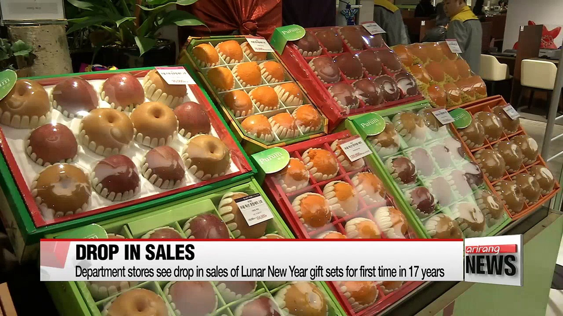 Department stores see drop in sales of Lunar New Year gift sets for first time in 17 years