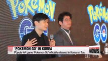 BD 'Pokemon Go' officially launches in Korea