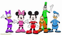 Coloring Mickey Mouse Clubhouse