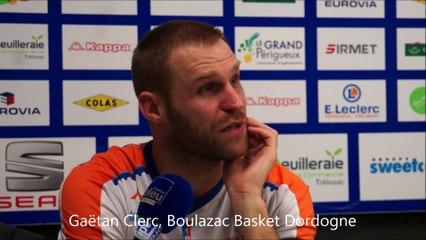 Conférence de presse : Boulazac Basket Dordogne - Aix-Maurienne