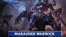 LOL PBE: Marauder Warwick Skin Update Preview