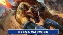 LOL PBE: Hyena Warwick Skin Update Preview