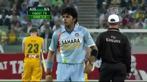 Sreesanth bowls an amazing spell of FAST bowling vs Australia @ MCG 2007 - Downloaded from youpak.com