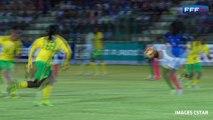 Equipe de France Féminine : Joie de Griedge Mbock après ses premiers buts en A