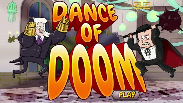 Regular Show - Dance Of Doom - Regular Show Games