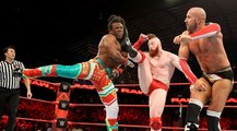 The New Day Vs Cesaro & Sheamus Tag Team Match For Tag Team Championship On WWE Raw Highlights