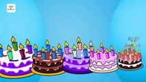 Happy Birthday Song - Nursery Rhymes Songs For Kids
