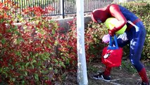 PEPPA PIG EASTER EGG HUNT vs Spiderman & Mickey Mouse - Fun Movie in Real Life at the Park