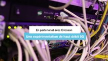 5G Démonstration de débits - Orange et Ericsson