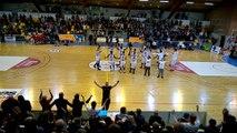 Basket - en vidéo : les joueurs du GET Vosges communient avec leurs supporters après leur victoire face à...