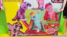 New Play Doh My Little Pony Make n Style Ponies Rainbow Dash, Twilight Sparkle, Pinkie Pie new MLP