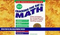 PDF [DOWNLOAD] Cracking the SAT II: Math Subject Tests, 1998 ED (Cracking the Sat Math Subject